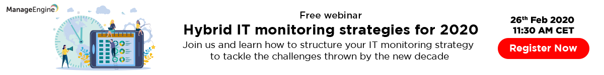 Free training on ManageEngine OpManager