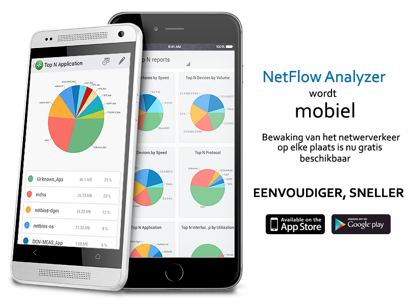 NetFlow Analyzer iOS app and Android app